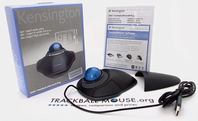 Kensington Orbit Trackball with Scroll Ring Review