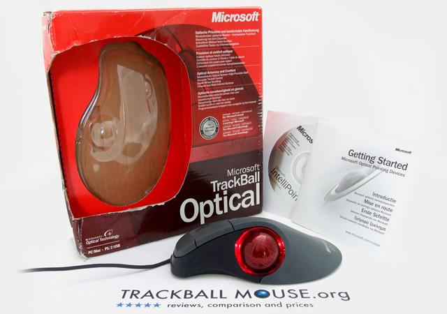 Microsoft Trackball Optical Review