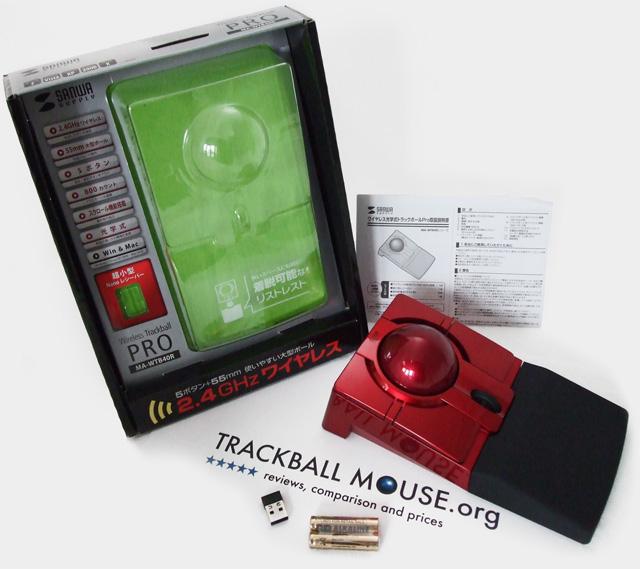 Sanwa Supply Wireless Trackball Pro MA-WTB40R Review