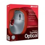 Microsoft Trackball Optical box