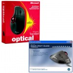Microsoft Trackball Optical box and software