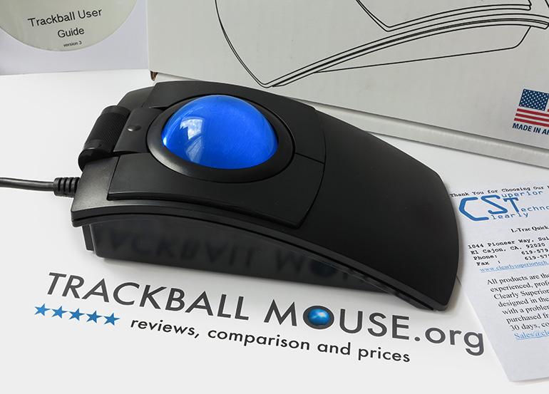 CST2545-5W (GL) L-Trac Glow Laser Trackball