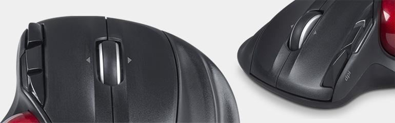 Speedlink Aptico trackball buttons scroll wheel