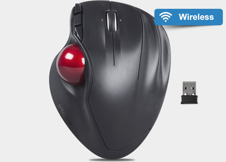speedlink aptico wireless trackball trackball mouse reviews