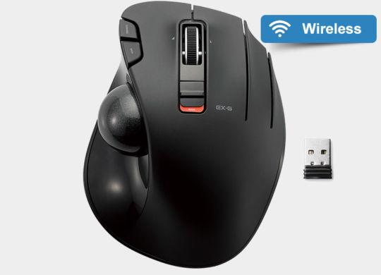Elecom M-XT3DRBK Wireless Trackball featured