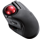 Elecom M-HT1DRBK HUGE Wireless Trackball icon