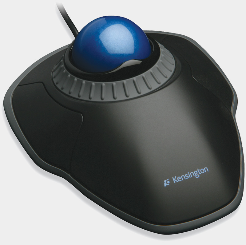 kensington orbit scrollwheel trackball