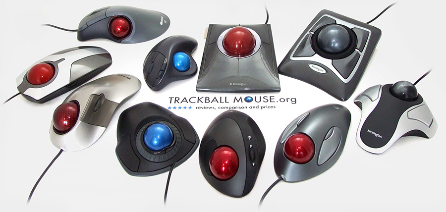 trackball thumb finger variations