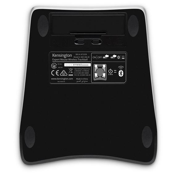 Kensington Expert Wireless Trackball Mouse 6 Trackball