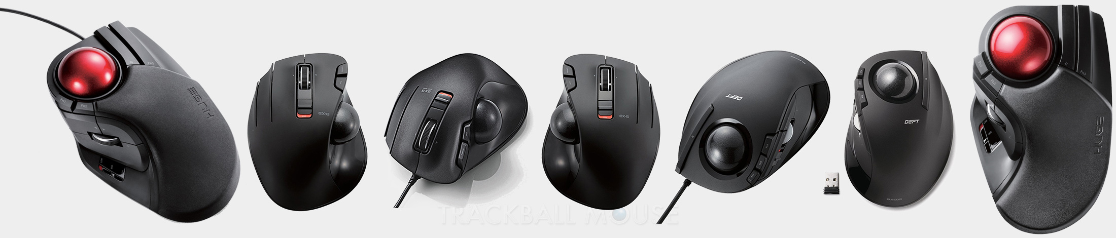 Elecom Trackball range explained ex-g deft huge