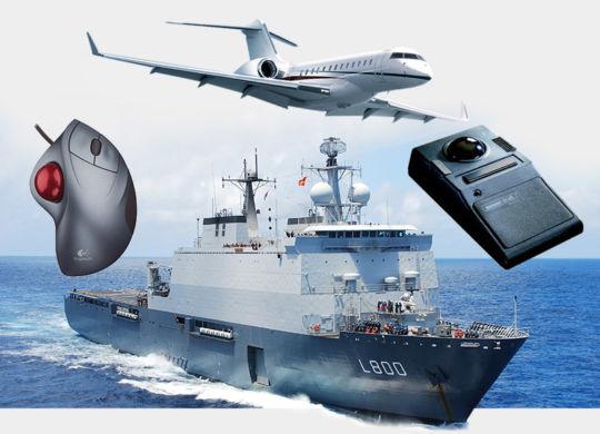 trackball military aviation