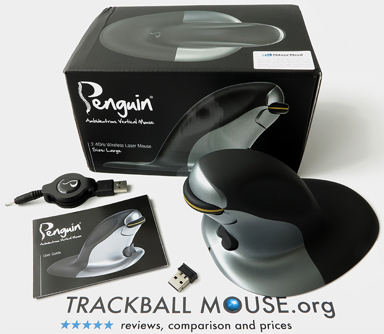 penguin wireless ambidextrous vertical mouse review posturite
