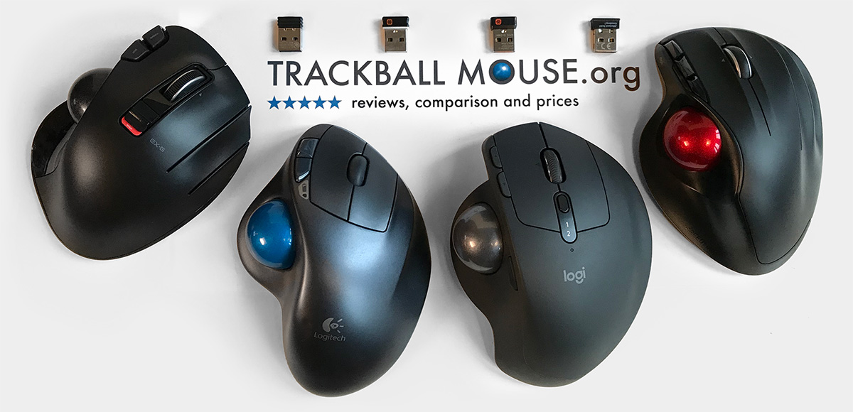 logitech mx ergo wireless trackball comparison size