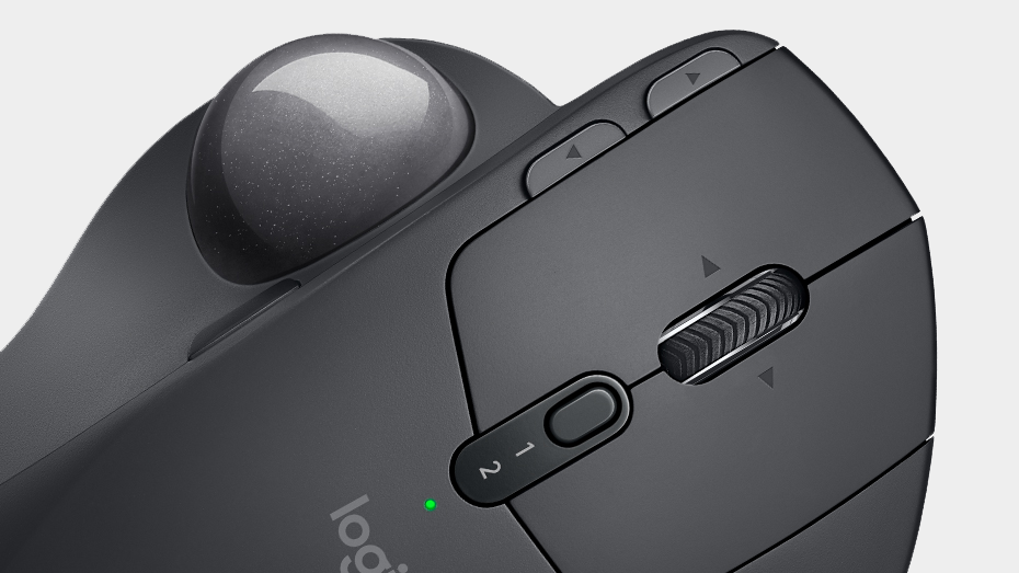 Logitech MX ERGO Wireless Trackball easy switch